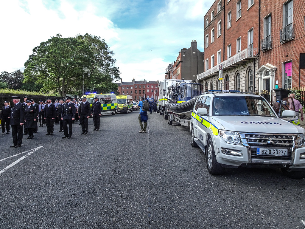 NATIONAL SERVICES DAY [PARADE STARTED OFF FROM NORTH PARNELL SQUARE]-143622