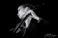 Irene Enzlin on Cello, during Uitgast 2018 Delta Piano Trio (fredbervoets.com) Tags: classic music cello portrait fredbervoets