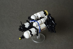 Some microspace experiments (AdNorrel) Tags: lego moc microscale legospace