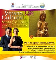 Recitales de ópera y zarzuela en la provincia de León (Valdelugueros y Santa Colomba de Curueño) (Isfercon Soprano) Tags: soprano músico música artista ópera zarzuela piano