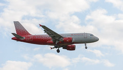 Airbus A319-112. Rossiya Airlines (v_mats) Tags: aircraft 70200 canonef70200mmf28lisiiusm canoneos5dmarkiii canon aviation sky jet airplane rossiyaairlines airbusa319 airbus airbusa319112