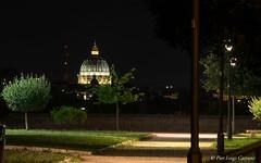 Aventino Roma (pierluigi.carrano) Tags: roma rome notte night sanpietro giardino ssbonifacioealessio nikon d3100 chiesa church lungaesposizione longexposure