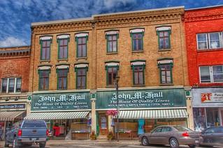 Paris - Ontario - Canada - John M Hall - The House of Quality Linens