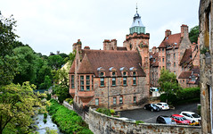 Well Court, Dean Village, Edinburgh (M McBey) Tags: edinburgh scotland deanvillage houses architecture river city