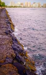 Kewalo Beach Park (sembach001) Tags: hawaii honolulu dusk panasoniczs100