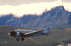 CASA 352L Ju 52 SAA ZS-AFA Jan van Riebeeck South Africa JEC 05764 (ww2color.com) Tags: casa352l junkers ju52 zsafa janvanriebeeck saa southafricanairways