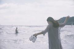 beach (osanpo_traveller) Tags: japan kamakura beach sony a7 oldlens elmar leica 90mm f4