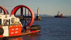 Coast Guard Hovercraft (iPhilFlash) Tags: vancouver outdoor outdoors fraserriver britishcolumbia tugboat water steveston canada garrypointpark richmond coastguard hovercraft ca
