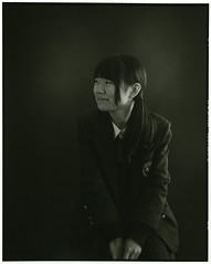 HIKARINOKO (Tamakorox) Tags: student highschoolstudent portrait art mamiyarb67prosd japan japanese asia lights shadow pleasure graduate love film bergger analoguecamera b&w hikarinoko kodak tmax iso400 日本 日本人 光 影 喜び 卒業 愛 高校生 光の子 玉掛寫眞館 ポートレート