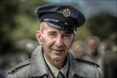 RAF Man (Darwinsgift) Tags: 1940s weekend canalside stoke bruene northamptonshire portrait