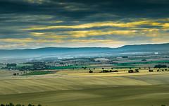 Harzvorland (ThoRom) Tags: harz harzvorland natur landschaft asse himmel felder ortschaften