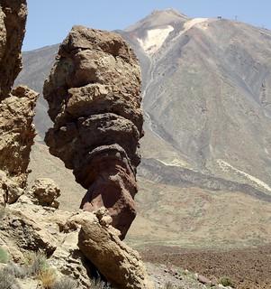 Roque cinchado tenerife and el teide volcano roques de garcia