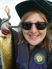 2018-09-09 Last Fishing Trip 2 (s.kosoris) Tags: skosoris pentaxoptiowg1 wg1 pentax huronian camp camping fishing fish me selfie walleye pickerel