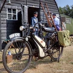 Home Front Village (Sez_D) Tags: warpeacerevival2018 livinghistory 1940s wwii vintage nikon kentscape raf reenactment reenacting vintagebike