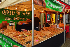 Old Locky's handmade fudge & toffee (cmw_1965) Tags: neath fair 2018 great september vendor stall fudge toffee sweets old lockys confectionary market sheffield handmade green orchard street