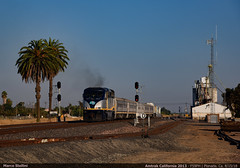 Planada, Ca. (Marco Stellini) Tags: amtrak california usa planada saint joaquin f59ph ge general electric