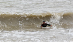NU8A9005 (felt_tip_felon®) Tags: surf brighton beach surfsup bodyboarding bodyboard ocean plasticfreesea tide waves break shore seaside palacepier albionbeach