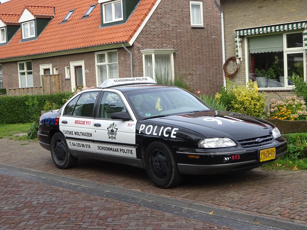 Schoonmaakpolitie CHEVROLET LUMINA LS PV-ZB-05 1996 Midsland Terschelling  (willemalink) Tags