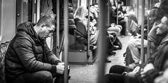 Tube mode (Henka69) Tags: tube metro publictransportation streetphotography candid