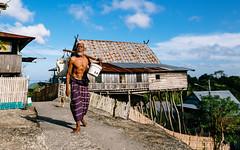 Daily Life at Bitombang, Selayar (syukaery) Tags: green old man dailylife village humaninterest activity selayar island celebes sulawesi traditional wooden houses nikon d750 nikkor 1635mm