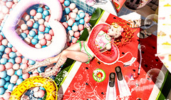夏天的西瓜泡泡池 (imp朣) Tags: secondlife second summer life girl