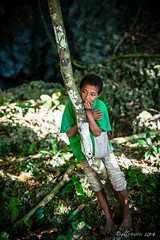 Kid in the Jungle 3222 (Ursula in Aus - Travelling) Tags: jimclinephototour milnebay png papuanewguinea tawali