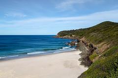 Burgess Beach (dean.white) Tags: australia au newsouthwales nsw greatlakes greatlakesnsw forster capehawke beach burgessbeach sand sea myallcoast coast headland waves landscape canoneos6d canonef24105mmf4lisusm