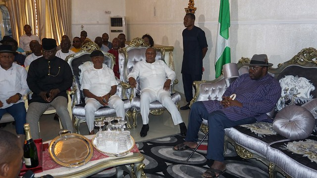 HSDickson-Condolence visit by Delta Ijaw Political Assembly (DIPA). 28th August 2018