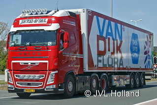 Volvo FH  NL  J.P. VIS & ZN.  'Van Dijk Flora' 180712-023-C6 ©JVL.Holland
