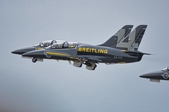 Aircraft '14' of Breitling Demo team formation take off. ;-) (Eadbhaird) Tags: breitling formationtakeoff esylr