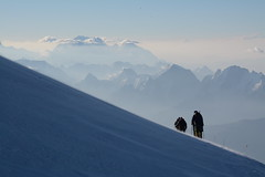 DSC_4737 (nic0704) Tags: elbrus mountain mt russia caucasus range europe 7 summits summit seven highest point high volcano glacier climbing mountaineering hiking ice snow crampon axe altitude baksan valley georgia elborz chegat prielbrusye national park