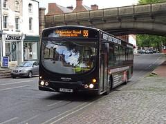 Notts&Derby 620 Friar Gate (Guy Arab UF) Tags: nottsampderby 620 fj03vwk scania l94ub wright solar bus friar gate bridge derby derbyshire wellglade group buses wellgladegroup