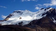 Mount Athabasca (Stefan Jürgensen) Tags: canadian rockies alberta canada canadianrockies rockymountains mountains snow glaciers bluesky clouds 2013 sony dslra700 a700 mount athabasca mountathabasca icefieldsparkway banffnationalpark