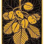 Chestnut branch (1919) by JJulie de Graag (1877-1924). Original from the Rijks Museum. Digitally enhanced by rawpixel. thumbnail