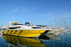 Yachthafen Marbella, Andalusien (Mario Kamitz) Tags: ship yacht hafen habour meer sea spain spanien luxus
