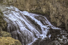 Gibbon Falls 1_DSC0486-Edit (alnbbates) Tags: yellowstonetrip august2018 yellowstonepark gibbonriver gibbonfalls topazstudio