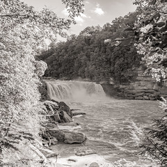 Falls at Cumberland Falls State Park, KY (Black and White) (JuanJ) Tags: nikon d850 lightroom art bokeh nature lens light landscape white green red black pink sky people portrait location architecture building city iphone iphoneography square squareformat instagramapp shot awesome supershot beauty cute new flickr amazing photo photograph fav favorite favs picture me explore interestingness wedding party family travel friend friends vacation beach fall cumberland falls corbin kentucky state park water grass tree tamron