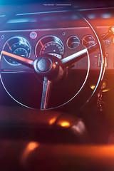 1968 Dodge Charger - Shot 11 (Dejan Marinkovic Photography) Tags: 1968 dodge charger mopar muscle car american classic interor steeringwheel detail dashboard lights