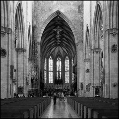 Münster Unserer Lieben Frau in Ulm (HOR-BS 696) Tags: berndsontheimer badenwürttemberg ulmdonau ulm ulmermünster münster kirche kirchenschiff eglise curch gotik gewölbe gotteshaus ulmmuenster gothicchurches