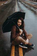 (Intense Retratos) Tags: men rain portrait photonature naturalbeauty greeneyes strait folk folkphoto natural chuva nublado photography