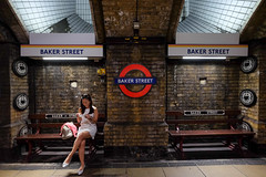 Baker Street (Samsul Adam) Tags: baker street station united kingdom uk london europe 2018 train underground fujifilm xt1 1024mm f4r