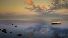 the dawn of a new day (I. Bellomo) Tags: leica alba sunrise dawn trapani saline salt nubia fujifilm culcasi sicily sicilia italy italia sony