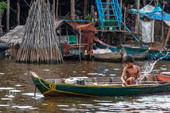 Daily Chores (shapeshift) Tags: bailing boats boy cambodia candidphotography chongkneas chores davidpham davidphamsf documentary floatingvillage lake people river shapeshift shapeshiftnet siemreap siemreapprovince tonlesap transport transportation travel village water woodenboats krongsiemreap kh
