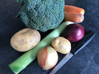 1501 Fesh veg for the pot