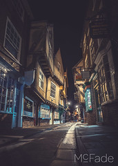 The Shambles - 0546 York and Nicola Workshop2018_09_12 by mcfade-HDR (ade_mcfade) Tags: leeds yorkshire west photographer mcfade ade wilson canon buildings city minster northyorkshire ouse river shambles sunset workshop york
