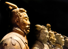 The Terracotta Army (Tony Shertila) Tags: 210–209bce england gbr liverpool qinshihuang unitedkingdom worldmuseum britain chinasfirstemperor europe exhibition geo:lat=5341003312 geo:lon=298177434 geotagged merseyside museum pottery statue terracottaarmy terracottawarriors ©2018tonysherratt 20180905134742liverpoolmuseumterracottaarmylr
