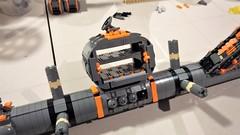 SHIPtember 2018 Day 16 (Swoosh Factor) Tags: lego ship shiptember spaceship wip hangar