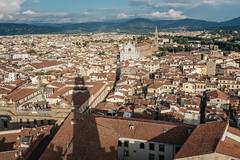 Basilica di Santa Croce from Palazzo Vecchio (ep_jhu) Tags: shadow x100f classicchrome sunset basilica fuji italy italia cityscape firenze fujifilm florence provinceofflorence it