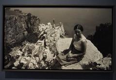 Jetta Escher-Umiker near Atrani, coast of Amalfi; M. C. Escher; 1931 (M_Strasser) Tags: escher mcescher olympusomdem1 olympus holland netherlands