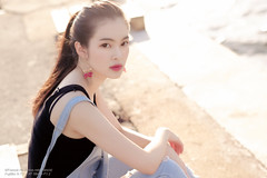 Rain (Francis.Ho) Tags: rain xt2 fujifilm girl woman female femme lady portrait people beauty pretty lips eyes hair face chinese model elegant glamour young sensuality fashion naturallight cute goddess asian